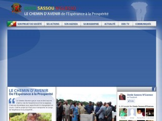 President H.E. Denis Sassou Nguesso official website
